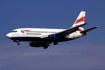 ZS-OLA - British Airways - Comair Boeing 737-200