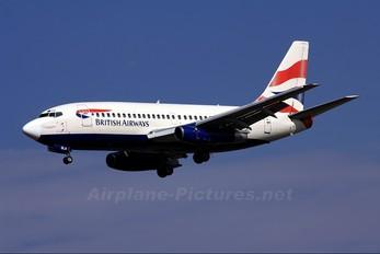 ZS-OLA - British Airways - Comair Boeing 737-200