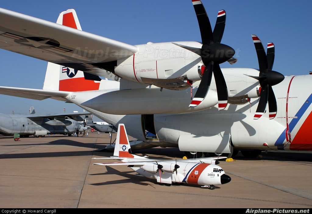 USA - Coast Guard 2005 aircraft at Fairford