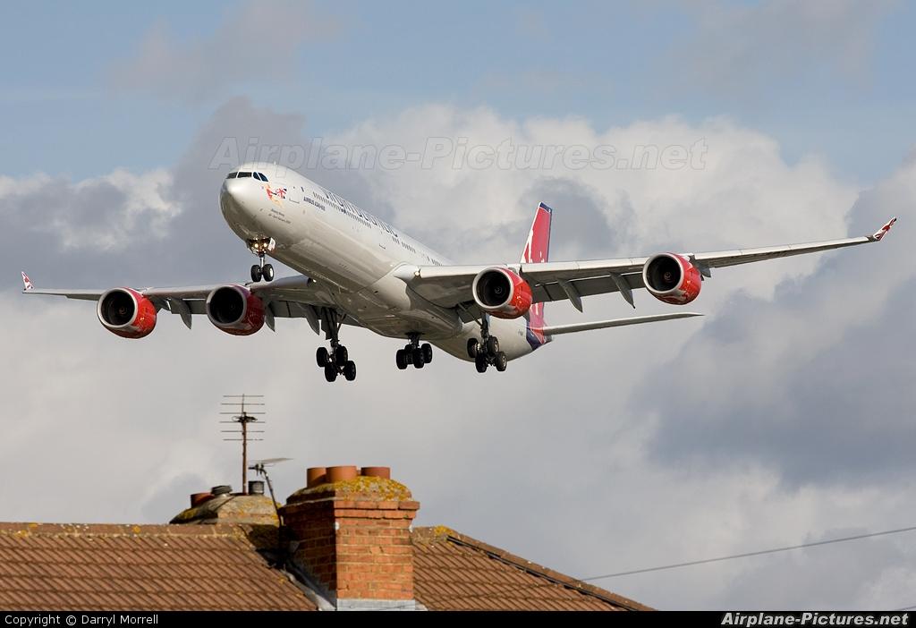 Virgin Atlantic G-VNAP aircraft at London - Heathrow