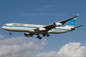 9K-ANB - Kuwait Airways Airbus A340-300