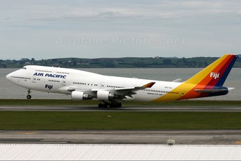 DQ-FJL - Air Pacific Boeing 747-400