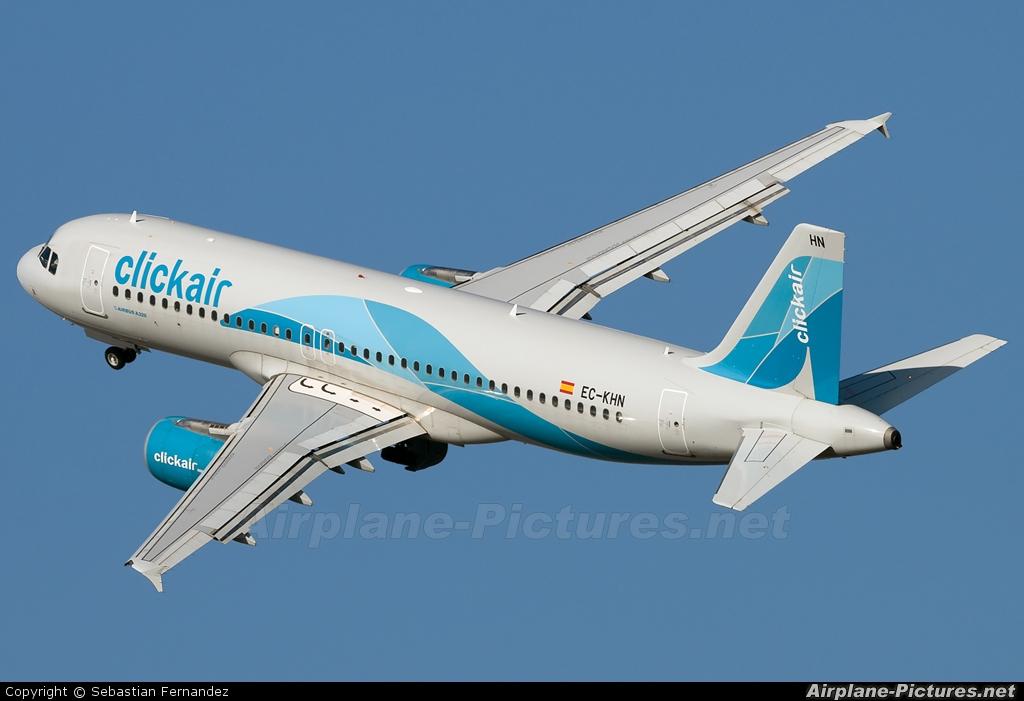 Clickair EC-KHN aircraft at Barcelona - El Prat