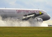 D-AGWL - Germanwings Airbus A319 aircraft
