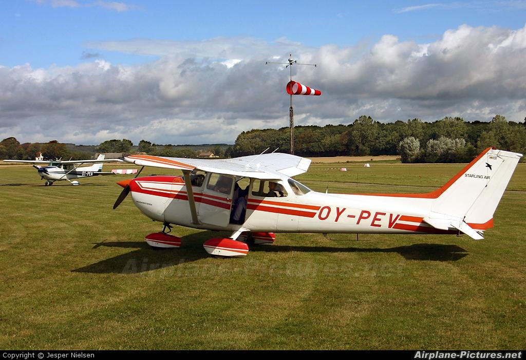 Starling Air OY-PEV aircraft at Sydfyns
