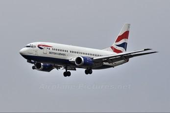 ZS-OKG - British Airways - Comair Boeing 737-300