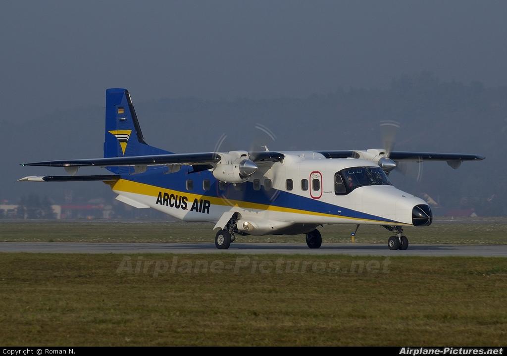 Arcus Air - aircraft at Kraków - John Paul II Intl