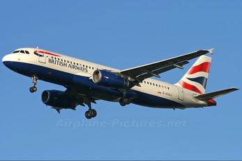 G-EUUJ - British Airways Airbus A320