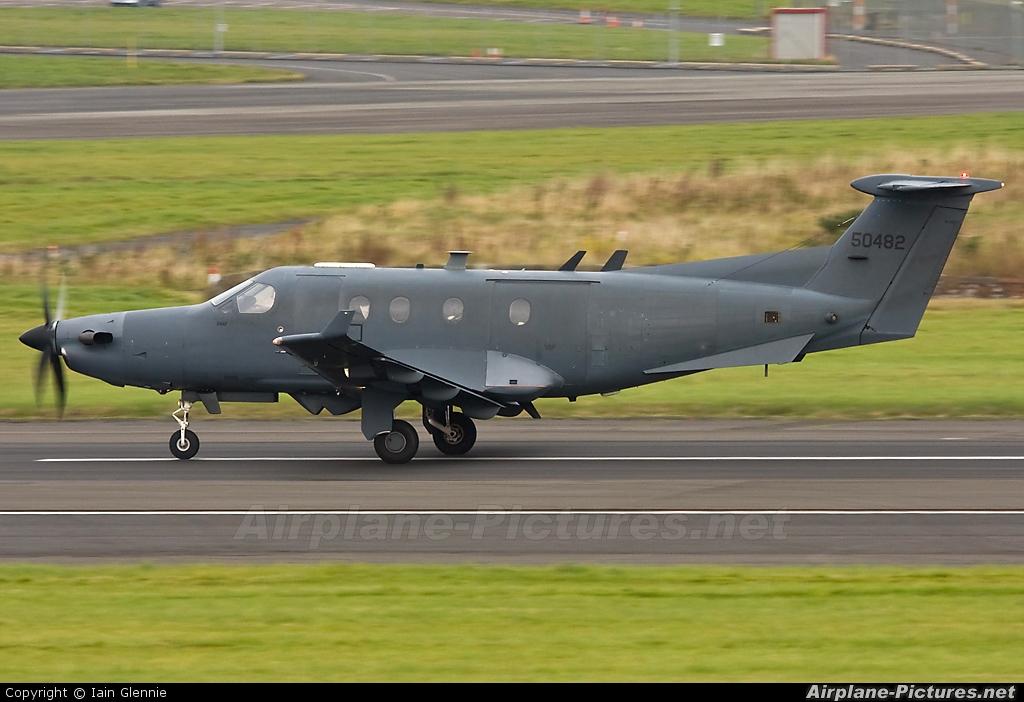 Image 05 0482 Usa Air Force Pilatus U 28a At Prestwick Photo Id 66015