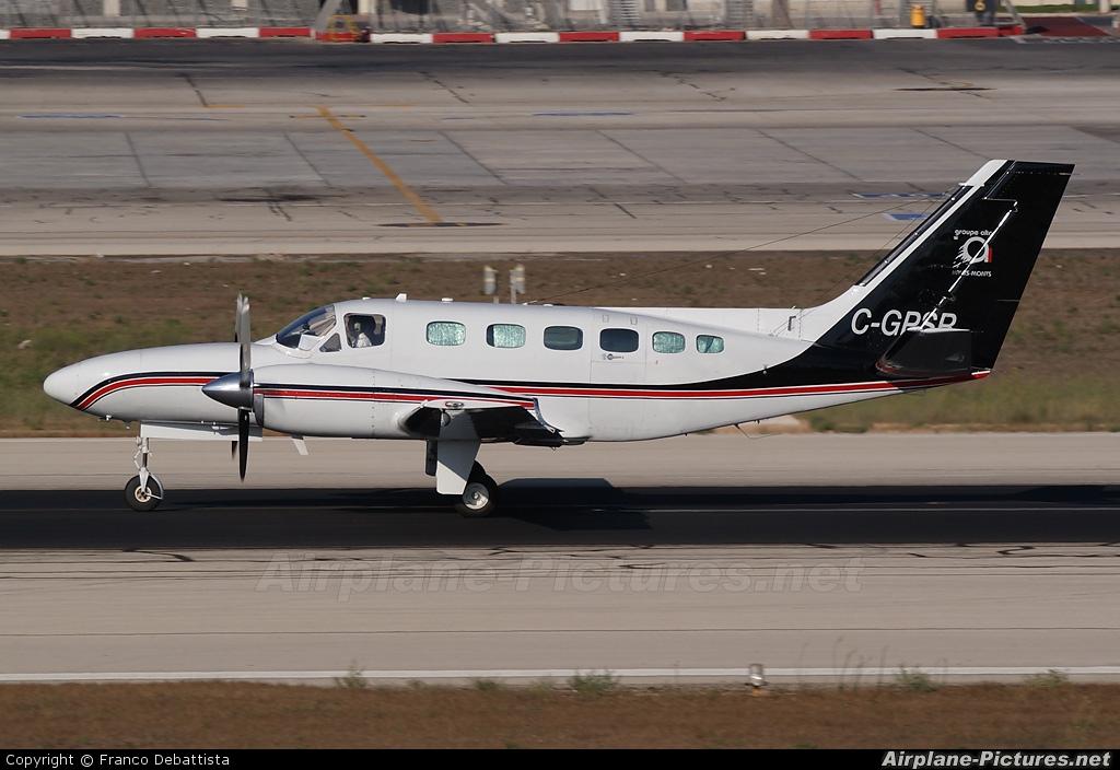 Private C-GPSR aircraft at Malta Intl