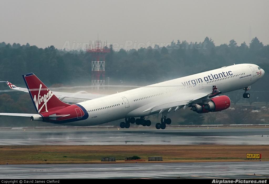 Virgin Atlantic G-VSSH aircraft at Tokyo - Narita Intl