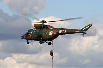 0608 - Poland - Army PZL W-3 Sokół