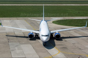 YR-BIA - Blue Air Boeing 737-800