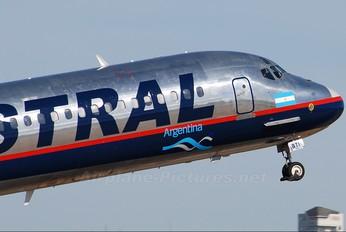 LV-BTI - Austral Lineas Aereas McDonnell Douglas MD-88