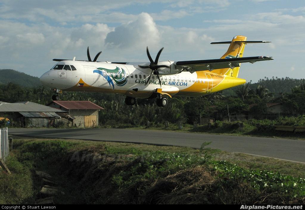 Cebu Pacific Air RP-C7250 aircraft at Caticlan