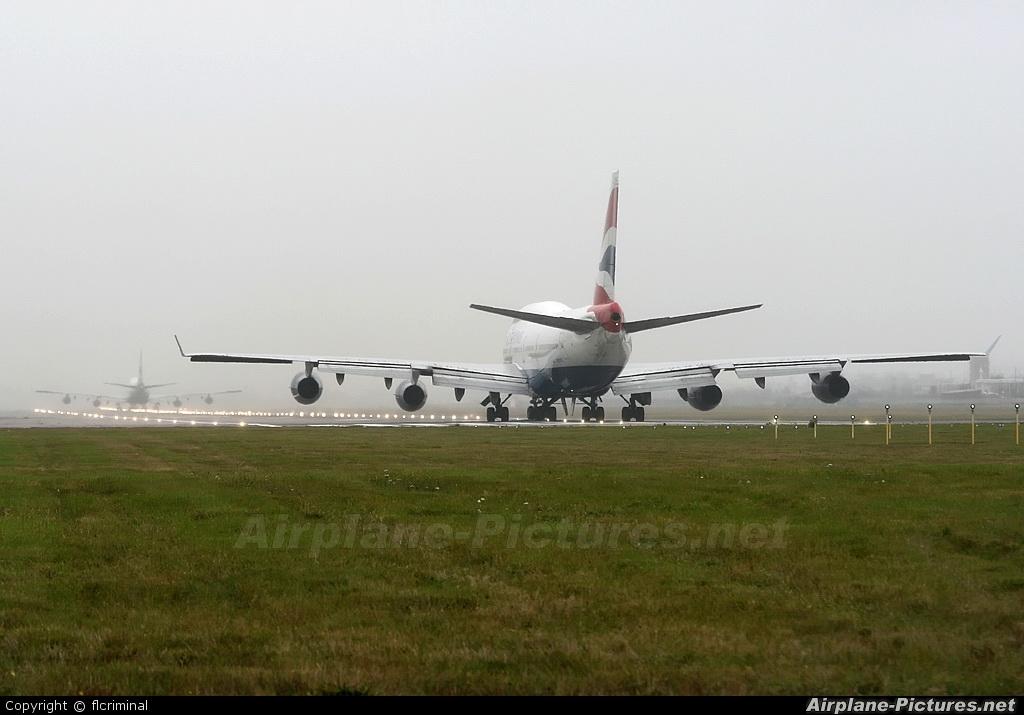 British Airways G-BYGC aircraft at London - Heathrow