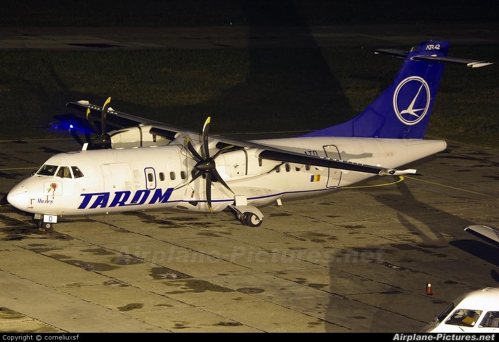 Tarom YR-ATD aircraft at Bacau