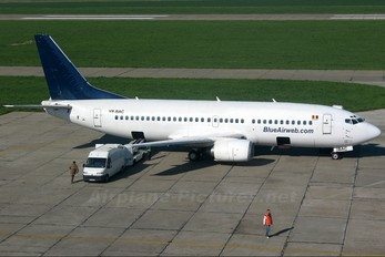 YR-BAC - Blue Air Boeing 737-300