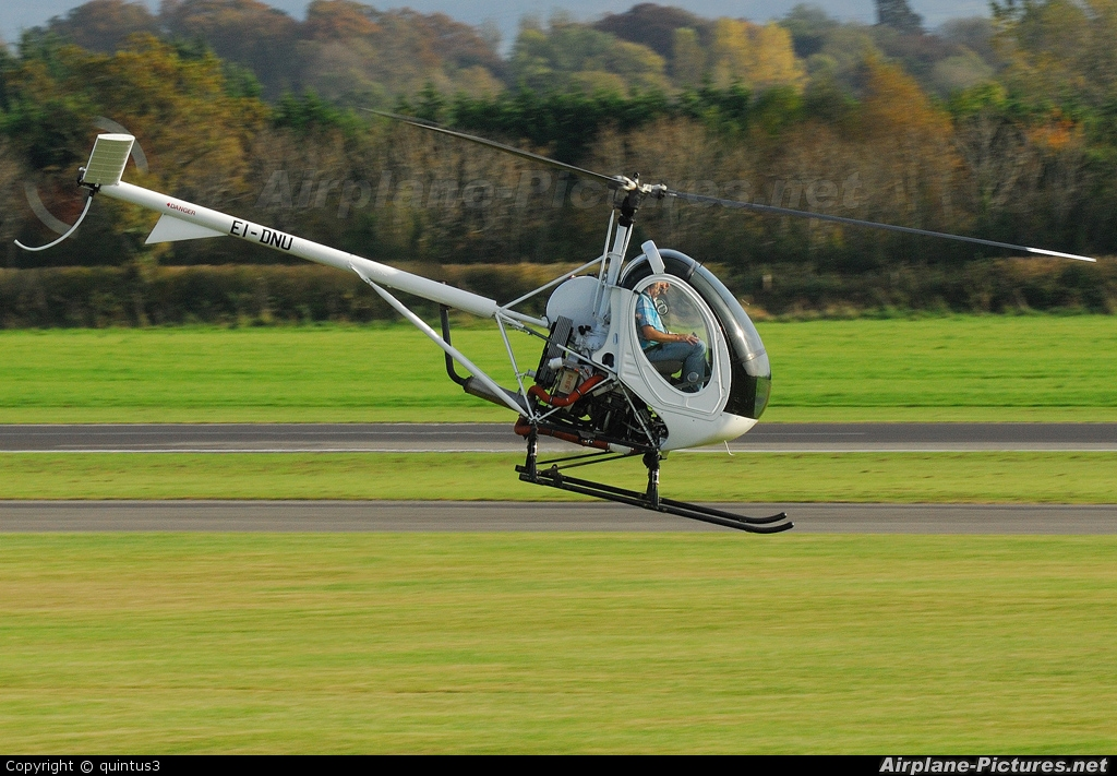 Private EI-DNU aircraft at Weston
