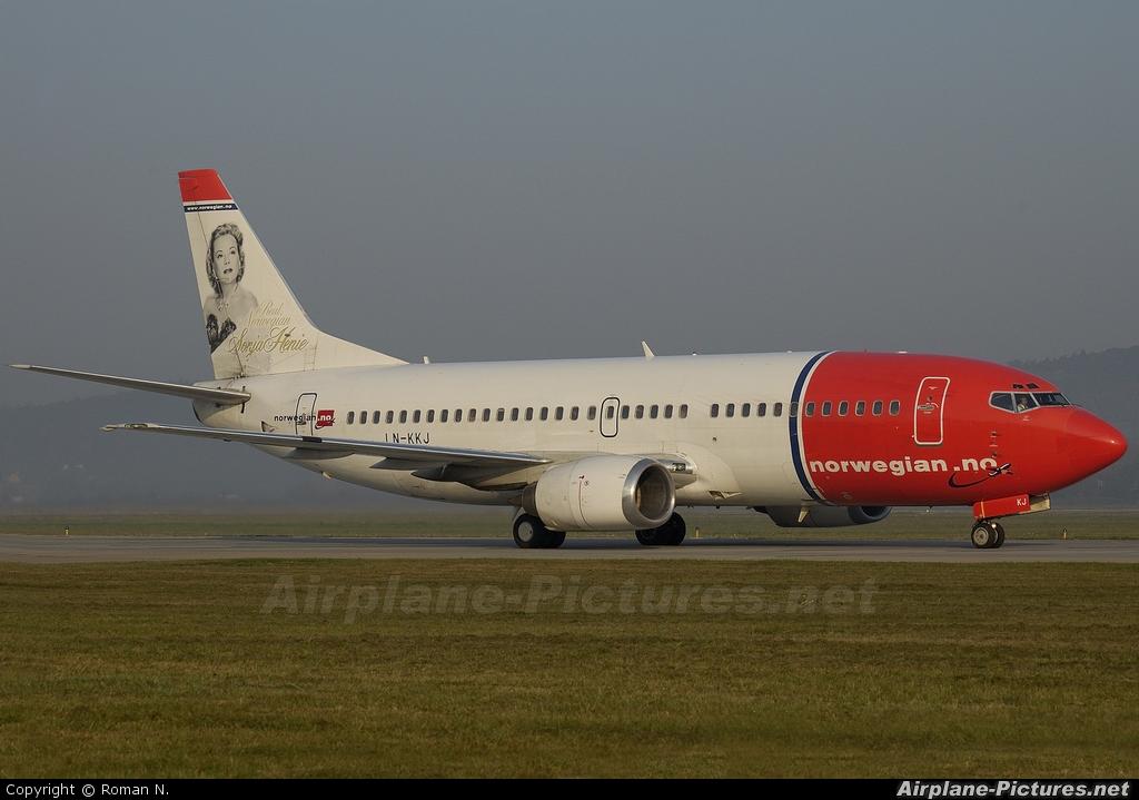 Norwegian Air Shuttle LN-KKJ aircraft at Kraków - John Paul II Intl