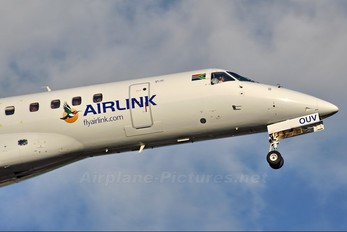 ZS-OUV - South African Airlink Embraer ERJ-135