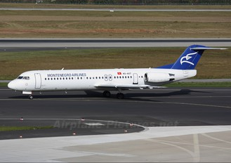 4O-AOT - Montenegro Airlines Fokker 100