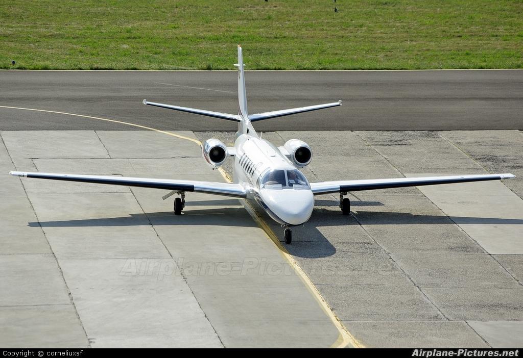 Ion Tiriac Air YR-TIC aircraft at Bacau