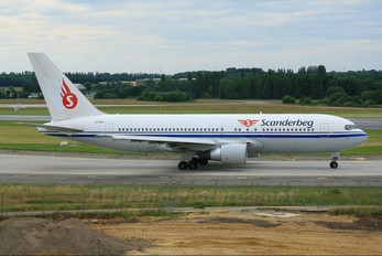 N712AX - Scanderbeg Air Boeing 767-200ER
