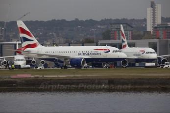 G-EUNB - British Airways Airbus A318