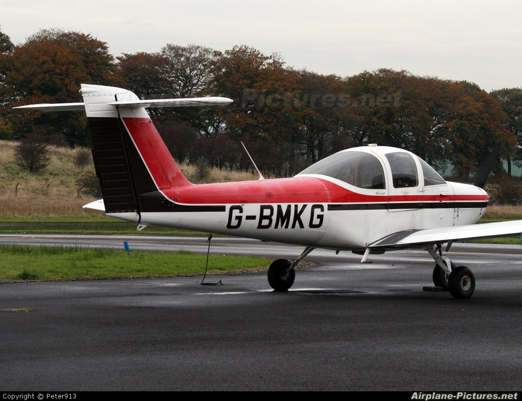 Leading Edge G-BMKG aircraft at Cumbernauld