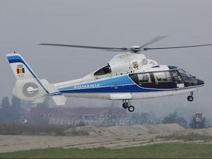 202 - Romania - Air Force Aerospatiale AS365 Dauphin II