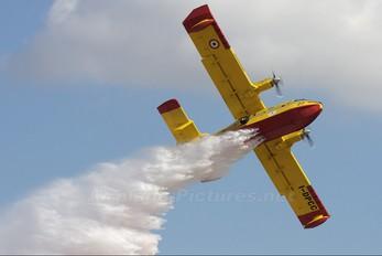 I-DPCC - Italy - Protezione civile Canadair CL-415 (all marks)