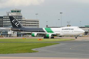 G-BDXF - European Aircharter Boeing 747-200
