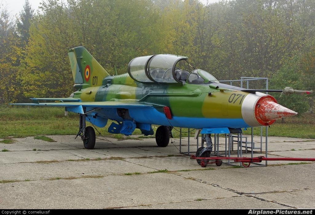 Romania - Air Force 071 aircraft at Bacau