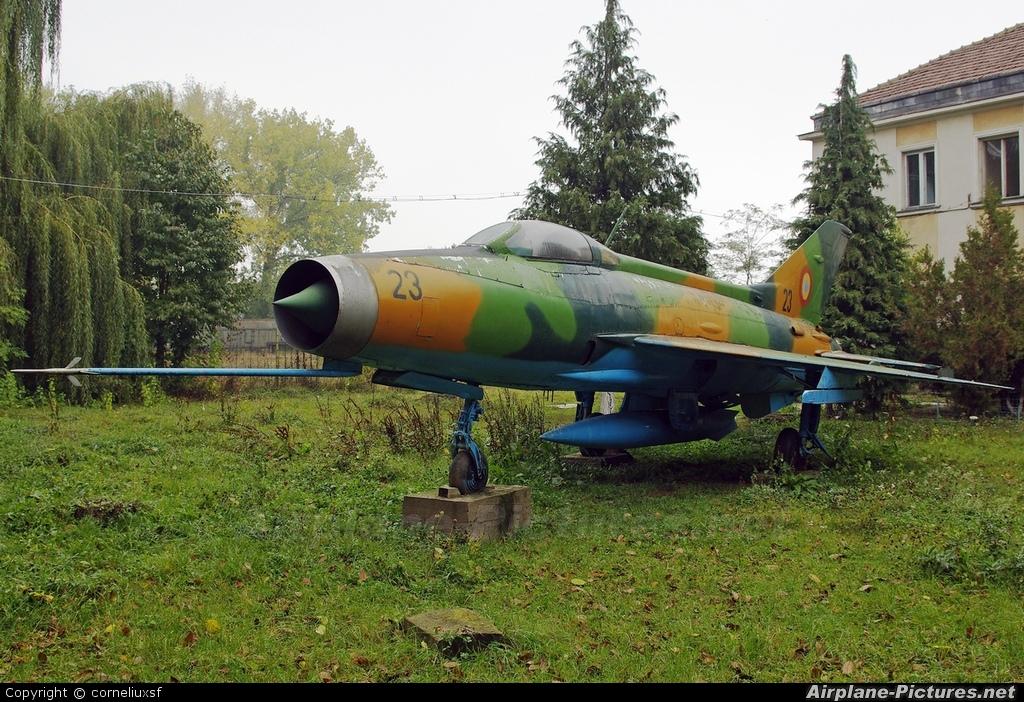 Romania - Air Force 23 aircraft at Bacau