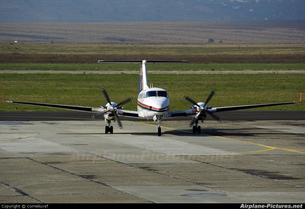 Romanian Civil Aeronautical Authority YR-CAA aircraft at Bacau