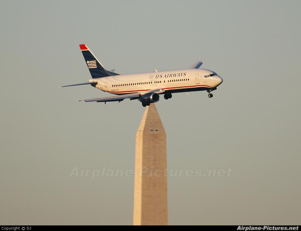US Airways N439US aircraft at Washington - Ronald Reagan National