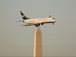 N439US - US Airways Boeing 737-400