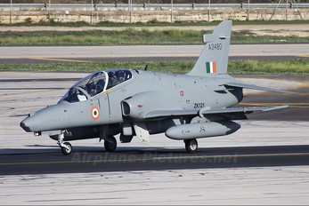 A3480 - India - Air Force British Aerospace Hawk 132