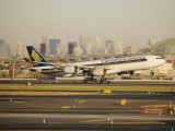 9V-SGE - Singapore Airlines Airbus A340-500 aircraft