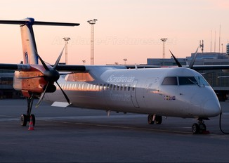 LN-RDL - SAS - Scandinavian Commuter de Havilland Canada DHC-8-400Q / Bombardier Q400