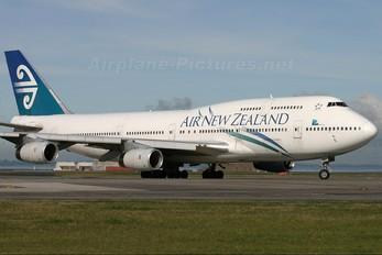 ZK-NBU - Air New Zealand Boeing 747-400