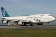 ZK-NBU - Air New Zealand Boeing 747-400 aircraft