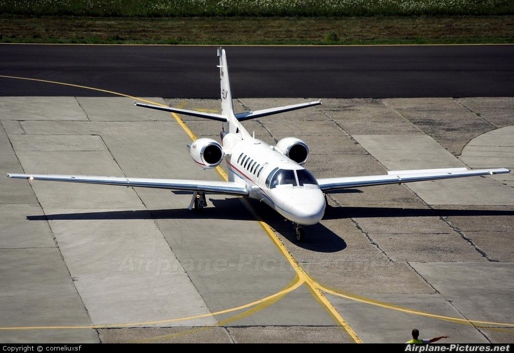 Eurojet Romania YR-ELV aircraft at Bacau