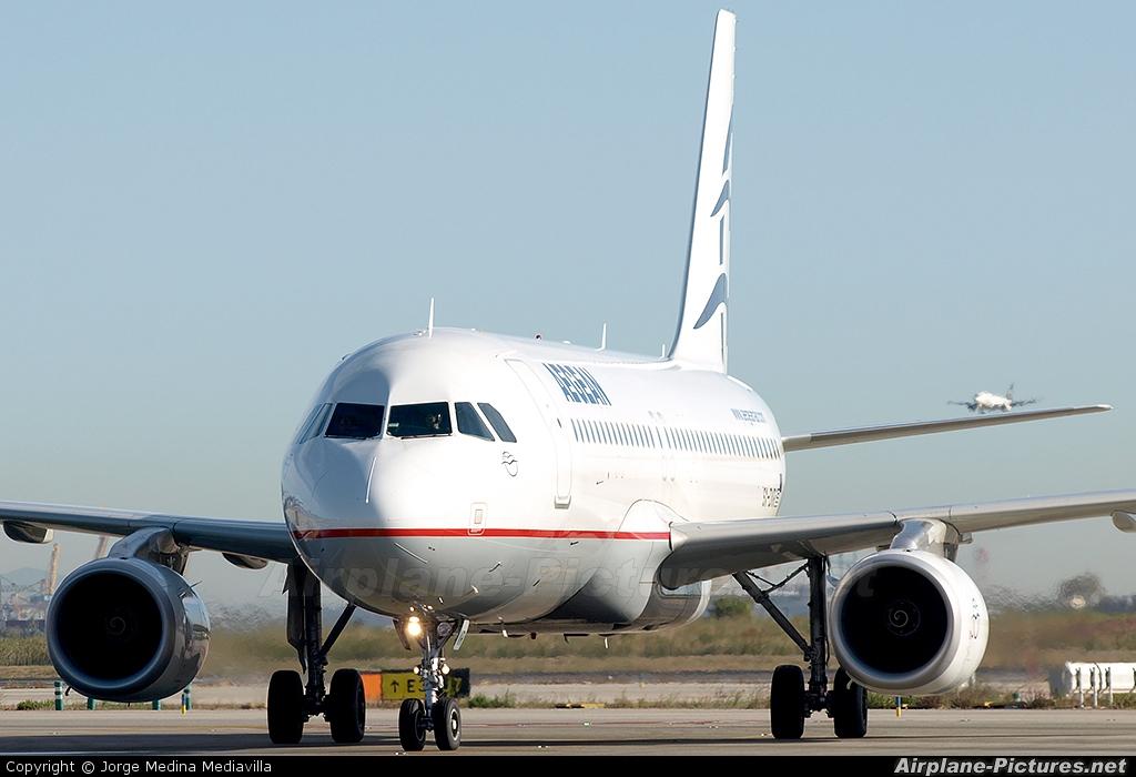 Aegean Airlines SX-DVR aircraft at Barcelona - El Prat