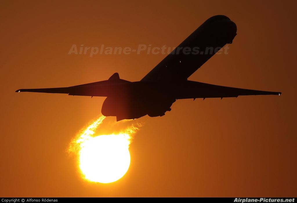Saudi Arabian Airlines HZ-APP aircraft at Barcelona - El Prat