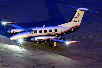 YR-ANF - Alfa Air Services Piper PA-42 Cheyenne