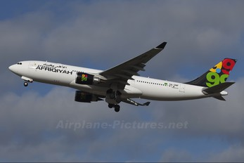 5A-ONF - Afriqiyah Airways Airbus A330-200