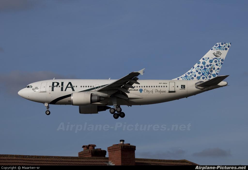 PIA - Pakistan International Airlines AP-BDZ aircraft at London - Heathrow