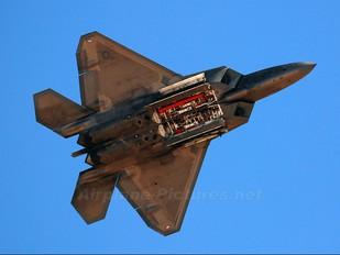 91-4009 - USA - Air Force Lockheed Martin F-22A Raptor